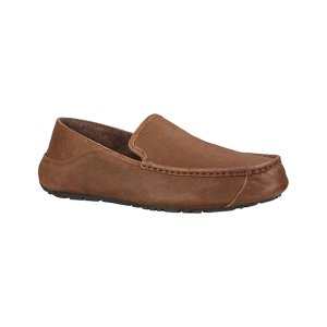 UGG® Stout Casual Heritage Hunley Leather Moccasin - Men | zulily