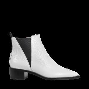 Jensen Grained Boots Acne Studios White