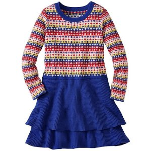 Girls All Is Bright Sweater Dress | Girls Sale Dresses & Skirts