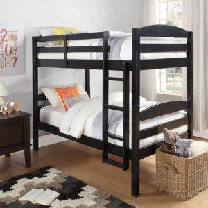 $199Better Homes and Gardens 2合1双层实木单人床+2个记忆棉床垫