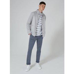 Navy Slim Stretch Chinos - Chinos - Clothing - TOPMAN USA