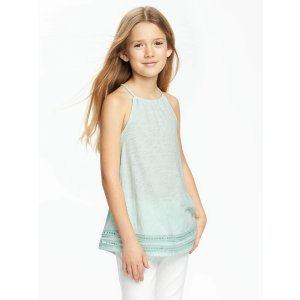 High-Neck Swing Tunic for Girls | Old Navy