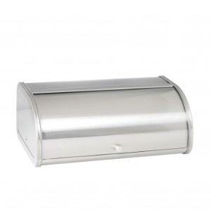 Anchor Hocking Brushed Steel Bread Box