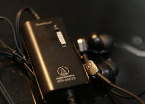 Audio-Technica ATH-ANC23 Active Noise-Cancelling In-Ear Headphones