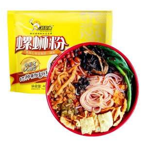 HAOHUANLUO Instant Spicy Rice Noodle 400g (Best Before: 07/19/2017)