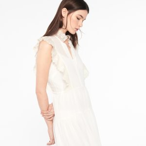 Light And Airy Lace Dress - Dresses - Sandro-paris.com