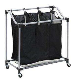 $19.54Honey-Can-Do SRT-01641 Triple Laundry Sorter, Steel/Black