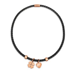 HEART4HEART SWEETHEART NECKLACE Rose Gold Plated - 3N13T092RKC