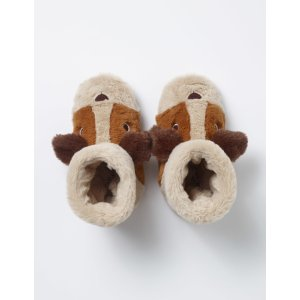 Puppy Slippers (Oatmeal)