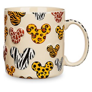 Mickey Mouse Animal Print Mug | Disney Store