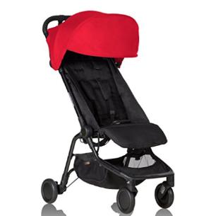 $173.97史低价:Mountain Buggy Nano 轻巧型婴儿推车