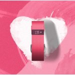 Fitbit Charge HR Wireless Activity Wristband (Pink, Large (6.2 - 7.6 in))