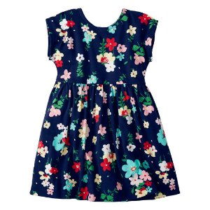 Hanna Andersson Navy Floral Its a Playdress, Its a Daydress | zulily