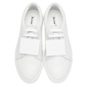 White Adriana Sneakers