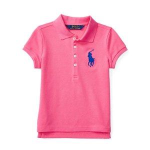 Big Pony Stretch Mesh Polo - Short Sleeve � Polo Shirts - RalphLauren.com