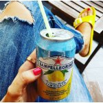 Sanpellegrino Lemon Sparkling Fruit Beverage, 11.15 fl oz. Cans (24 Count)