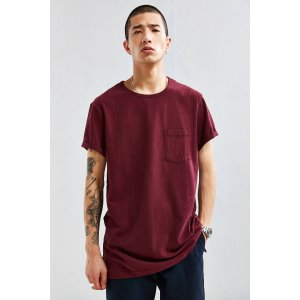 Heavy Roll Sleeve Tee | Urban Outfitters