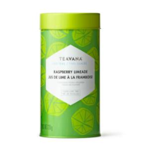 Raspberry Limeade Tea-Filled Tin | Teavana