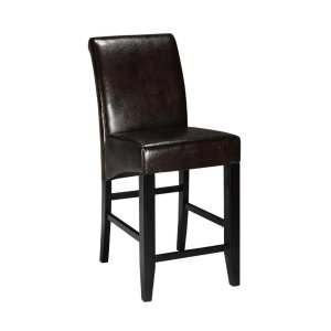 Home Decorators Collection Parsons 41 in. Espresso Cushioned Counter Stool-0238600800 - The Home Depot