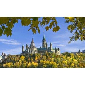 【85折优惠码CA1774】(5天)加东名城奢华团:住超五星古堡酒店,魁北克、渥太华、蒙特利尔、京士顿精华,加境尼亚加拉大瀑布,千岛湖绝美风光