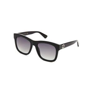 GG 0032/S Black Square Sunglasses - Century 21