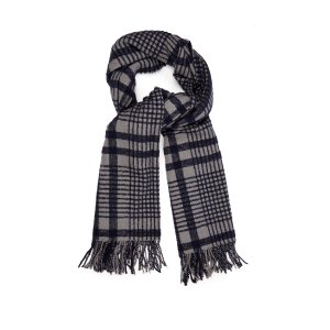 Canada checked wool-blend scarf | Acne Studios |