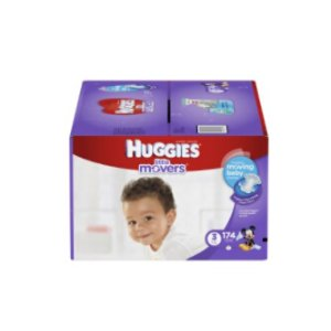 Huggies Little Movers Diapers, Economy Pack Plus | Jet.com