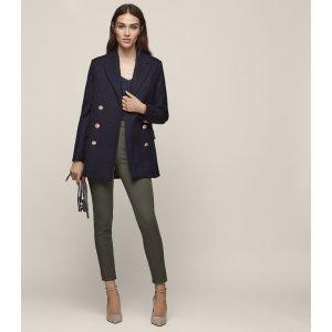 Tyne Super-Skinny Tailored Trousers - REISS