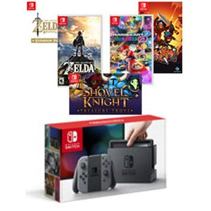 Nintendo Switch Neon Joy-Con Zelda & Digital Bundle - Ships by 05/19/17 for Nintendo Switch | GameStop