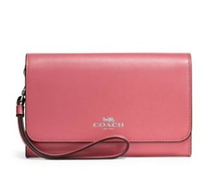 Coach Stone Leather Wristlet @ Lord & Taylor