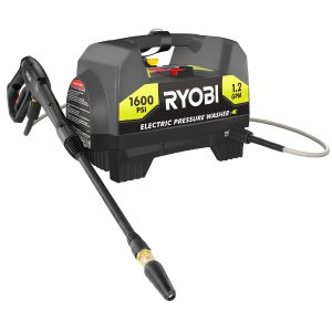 Ryobi 1,600-PSI 1.2-GPM Electric Pressure Washer-RY141612 - The Home Depot