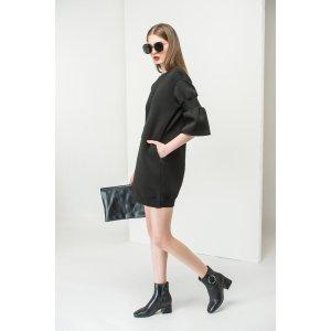 Mini Dress With Elastic Sleeve DR1443