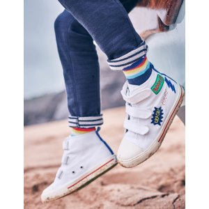 Canvas High Tops 52026 Sneakers & Plimsolls at Boden