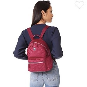 $367MCM Nylon Backpack