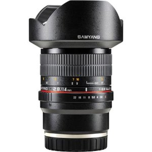 Samyang 14mm f/2.8 IF ED UMC Manual Focus Lens for Sony E Cameras