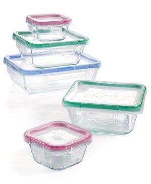 低至$13.99Macy's 精选Pyrex、Snapware、Martha Stewart等品牌食物储存盒特卖
