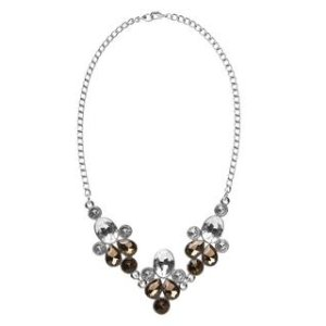 Floral Gem Necklace