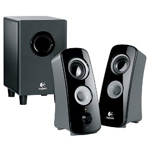 Amazon.com: Logitech Speaker System Z323 with Subwoofer: Electronics