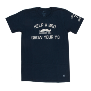 Movember tee shirt - 7FORALLMANKIND