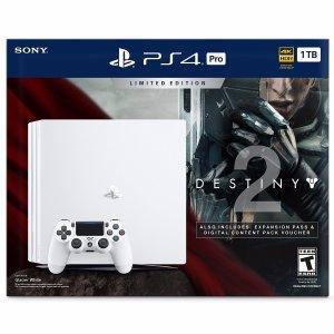 PlayStation 4 Pro 1TB Console - Destiny 2 Bundle