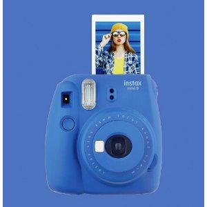 Fujifilm instax mini 9 Instant Film Camera Blue 16550667 - Best Buy