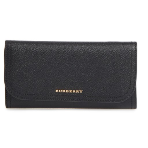 Burberry Ashton Leather Continental Wallet