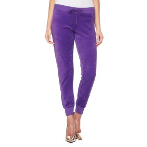 MODERN TRACK SLIM VELOUR PANT - Juicy Couture