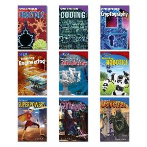 Shell Education Grades 6-8 TIME STEM Nine-Book Set | zulily
