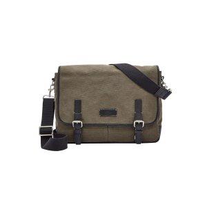Fossil® Men's Graham Canvas Messenger Bag