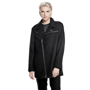 James Moto Trench Coat at Guess
