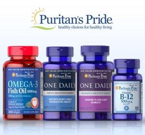 买2送3+额外7.9折,堪比黑五价Puritan's Pride 热卖保健品促销,收鱼油、维骨力等
