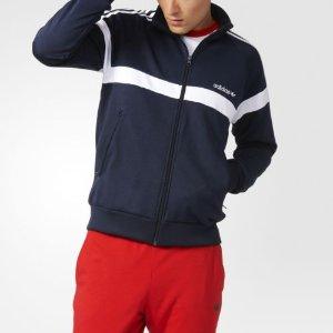adidas Itasca Track Jacket Men's Blue | eBay
