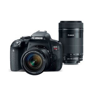Canon EOS Rebel T7i Camera Bundle with EF-S 18-55 IS STM and EF-S 55-250 IS STM Lens Kit | Canon Online Store