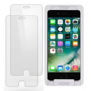$1.99iPhone 7 6s 6 Screen Protector Glass, Trianium iPhone 7 Tempered Glass (2-Pack)